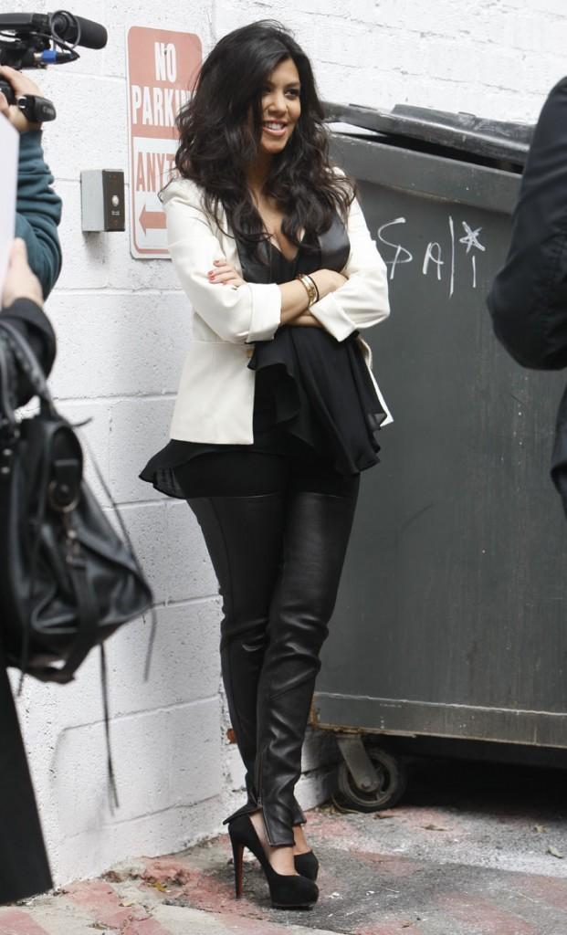 Kourtney Kardashian met-elle son bébé en danger ?