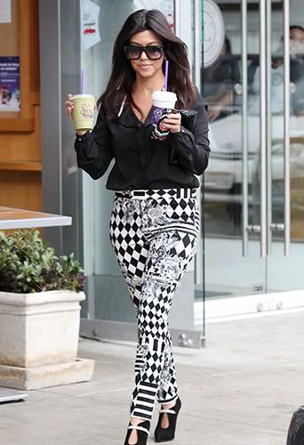 Kourtney Kardashian à Los Angeles le 12 novembre 2013