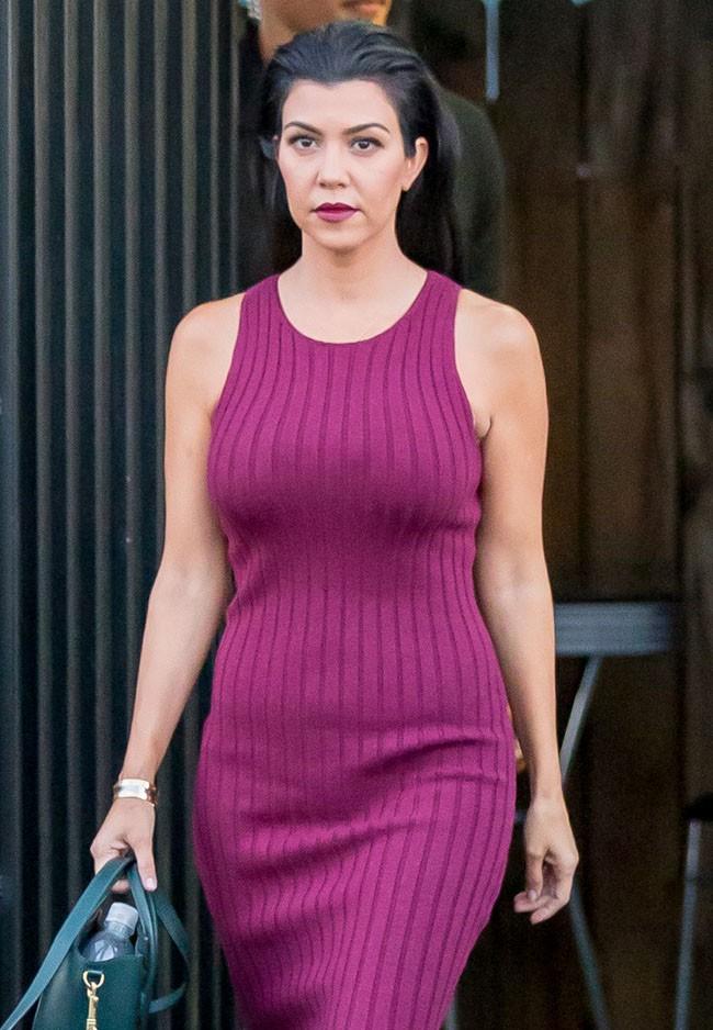 Kourtney Kardashian à Los Angeles le 28 septembre 2015