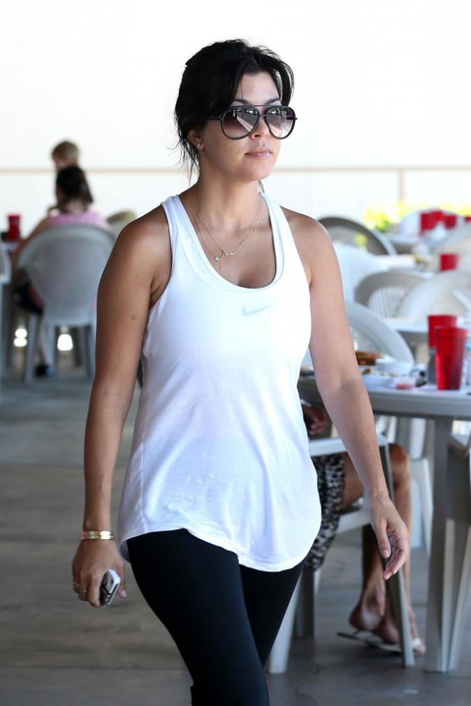 Kourtney Kardashian : plus sportive que jamais !