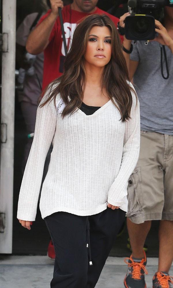 Kourtney Kardashian, version habillée !
