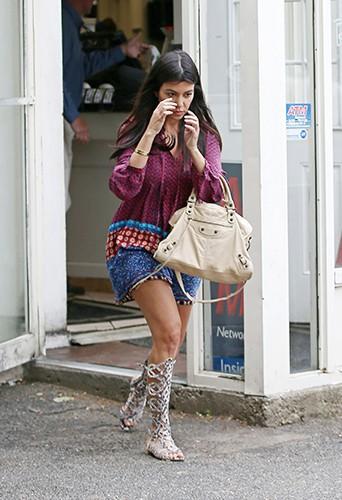 Kourtney Kardashian dans les Hamptons le 4 juin 2014