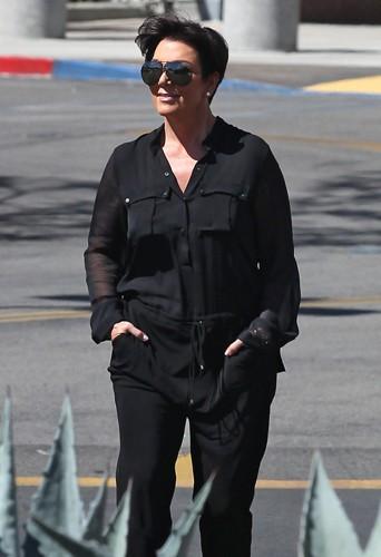 Kris Jenner à Los Angeles le 10 mars 2014