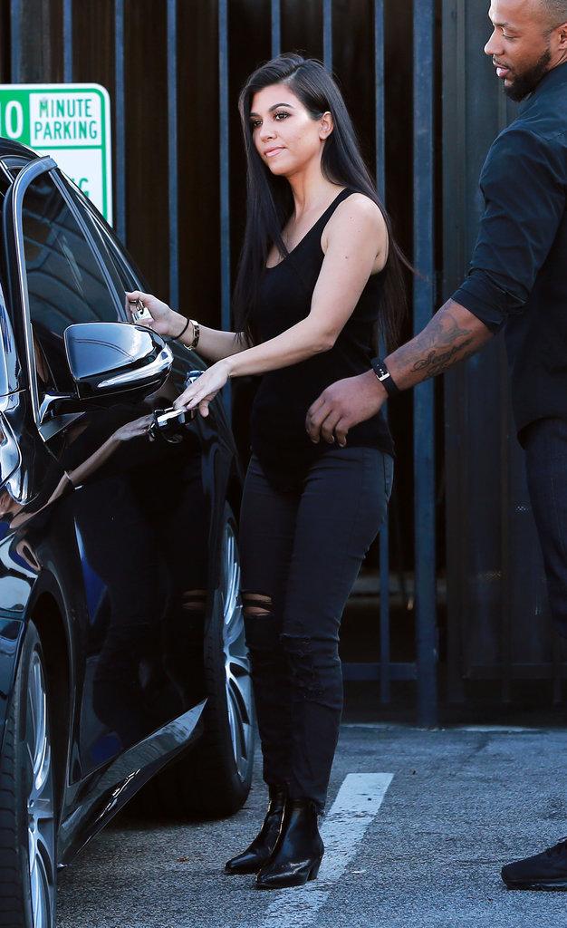 Photos : Kourtney Kardashian : un mois déjà que son ex n'a pas vu les petits !