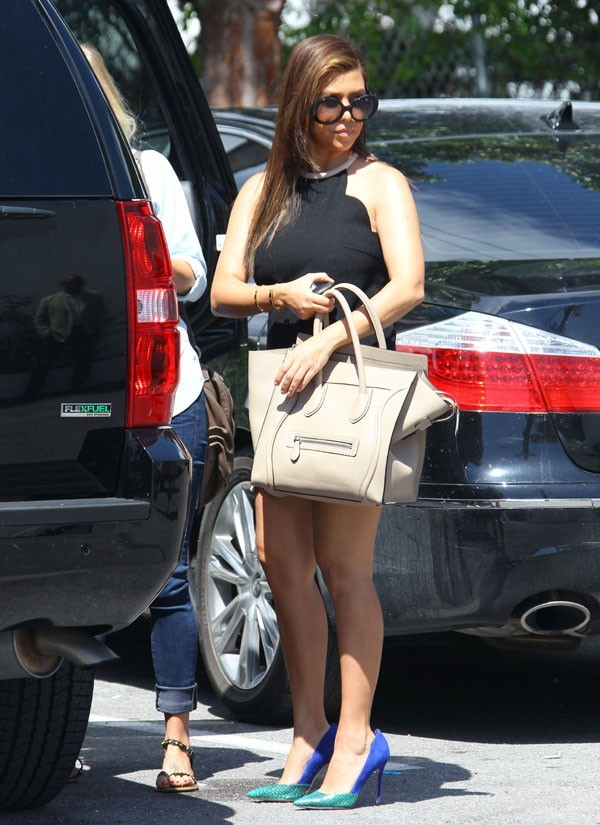 Kourtney Kardashian à Miami le 28 septembre 2012
