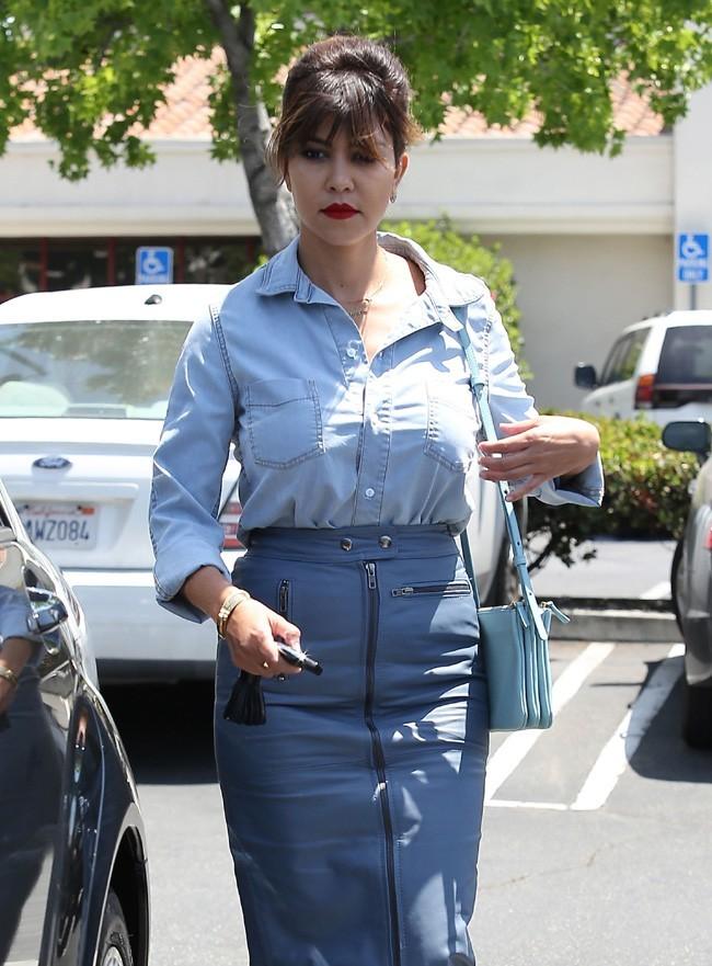 Kourtney Kardashian à Calabasas le 21 mai 2013