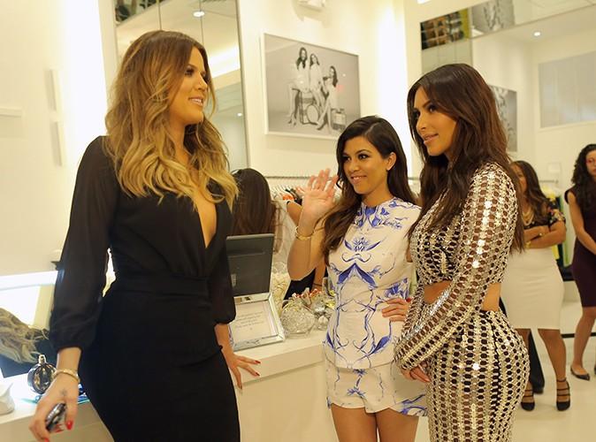 Khloé, Kourtney et Kim Kardashian à Miami le 12 mars 2014