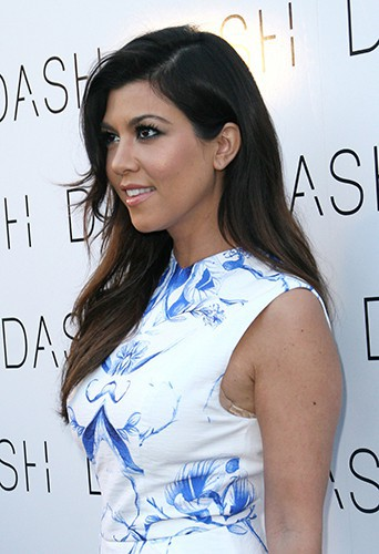 Kourtney Kardashian à Miami le 12 mars 2014
