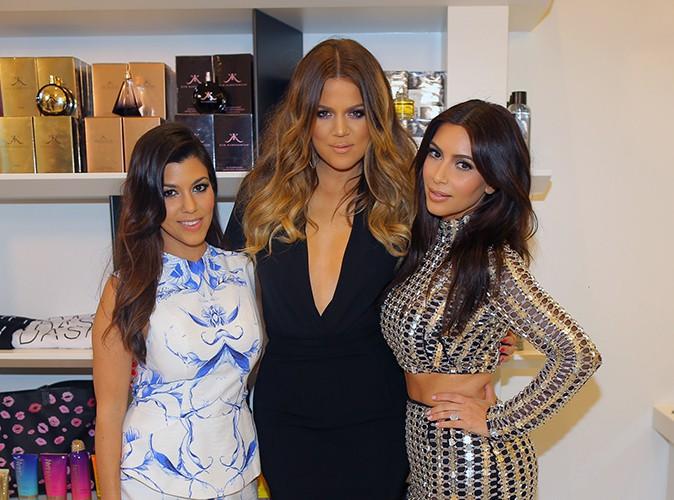 Kourtney, Khloé et Kim Kardashian à Miami le 12 mars 2014