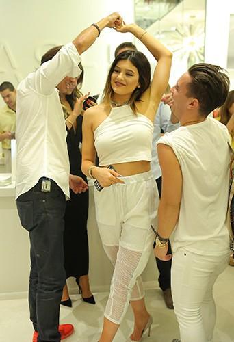 Kylie Jenner à Miami le 12 mars 2014