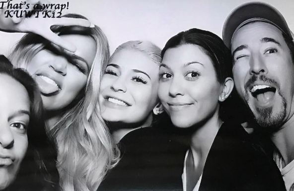 Photos : Kourtney, Khloe et Kylie font la fête sans Kim...