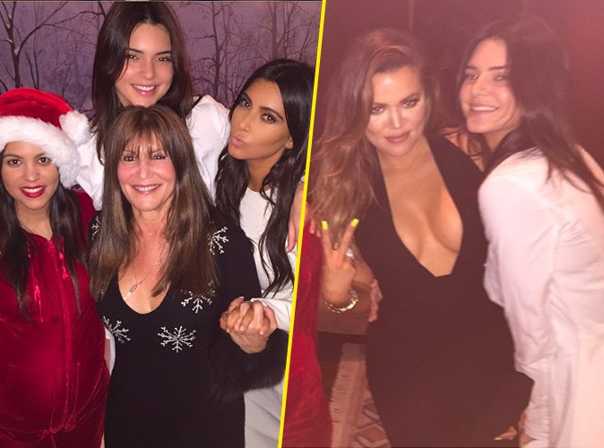 Kourtney, Kim, Khloe et Kendall : c'est Noël avant l'heure chez les Kardashian !