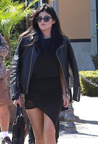 Kylie Jenner à Calabasas le 14 octobre 2013