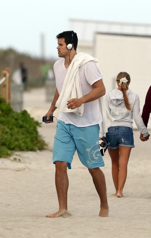 Kris Humphries à Miami le 26 décembre 2013
