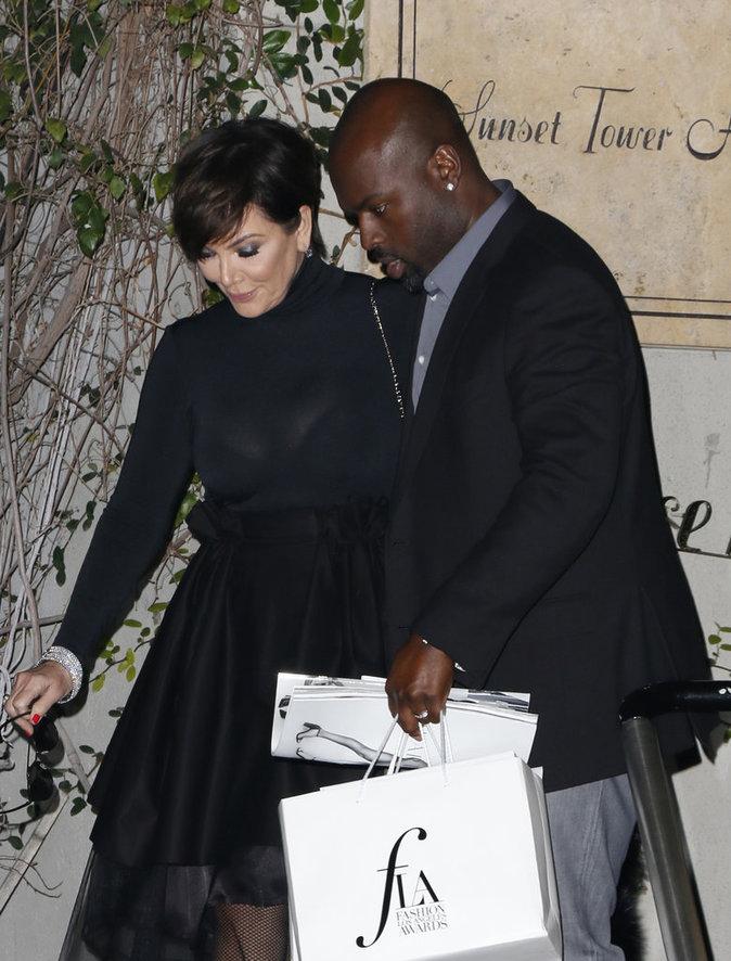 Photos : Kris Jenner et Corey Gamble roucoulent pour faire taire les rumeurs !