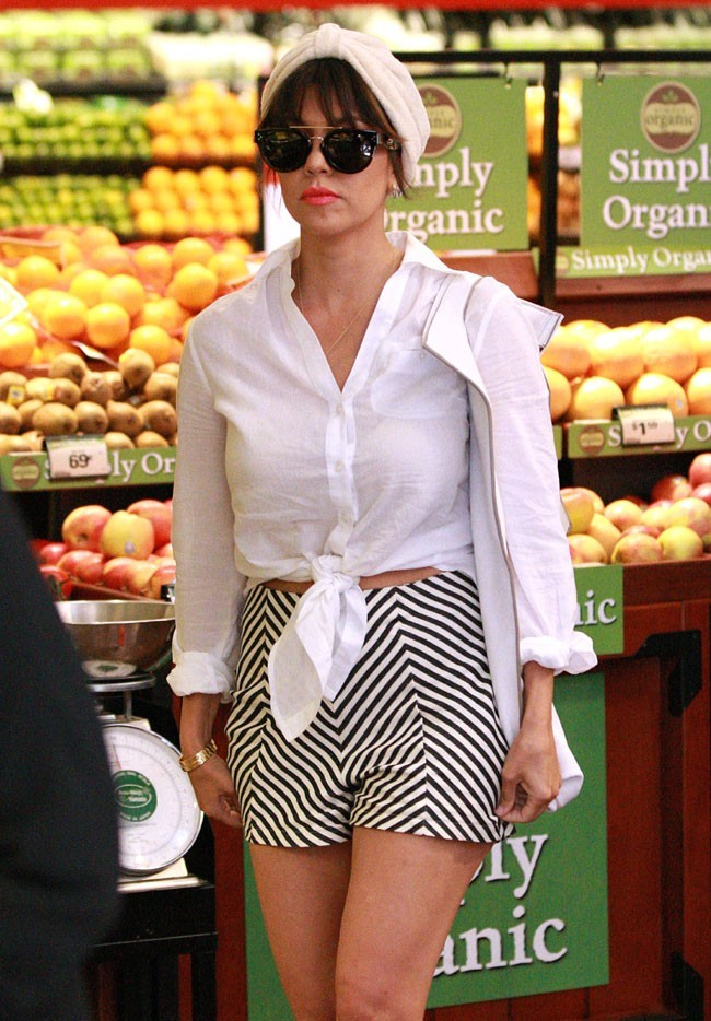 Kourtney Kardashian à Calabasas le 18 juin 2013