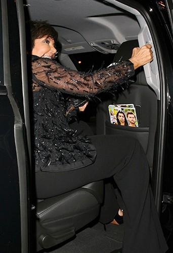 Kris Jenner à Los Angeles le 10 juillet 2014