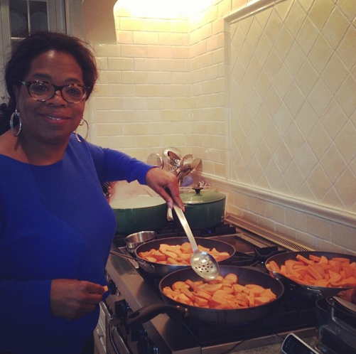 Oprah Winfrey nous invite dans sa cuisine !