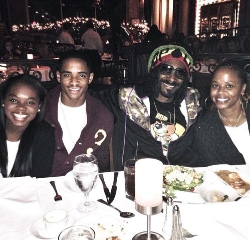 Snoop Dogg en famille !