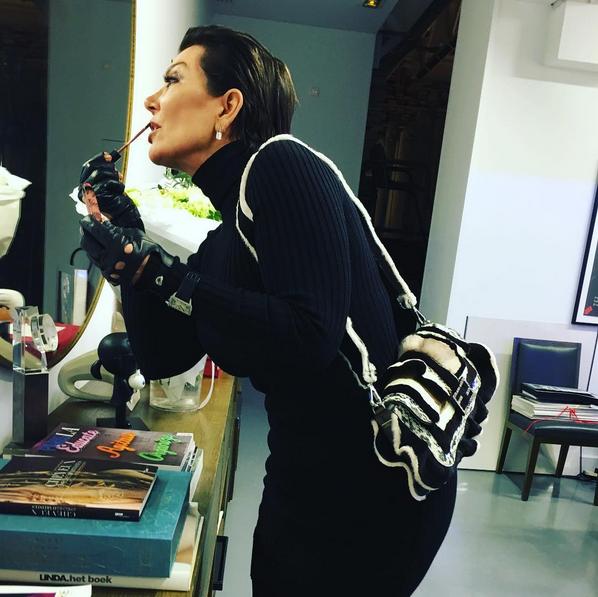 Photos : Kris Jenner : nuit de folie avec Karl Lagerfeld !