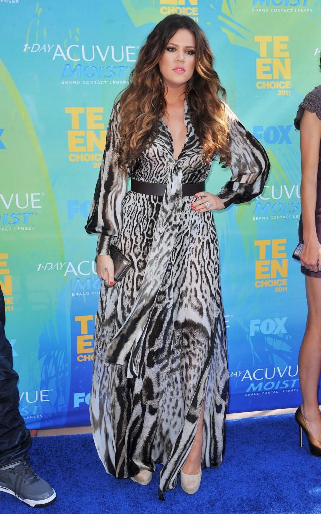 Khloe Kardashian aux Teen Choice Awards 2011