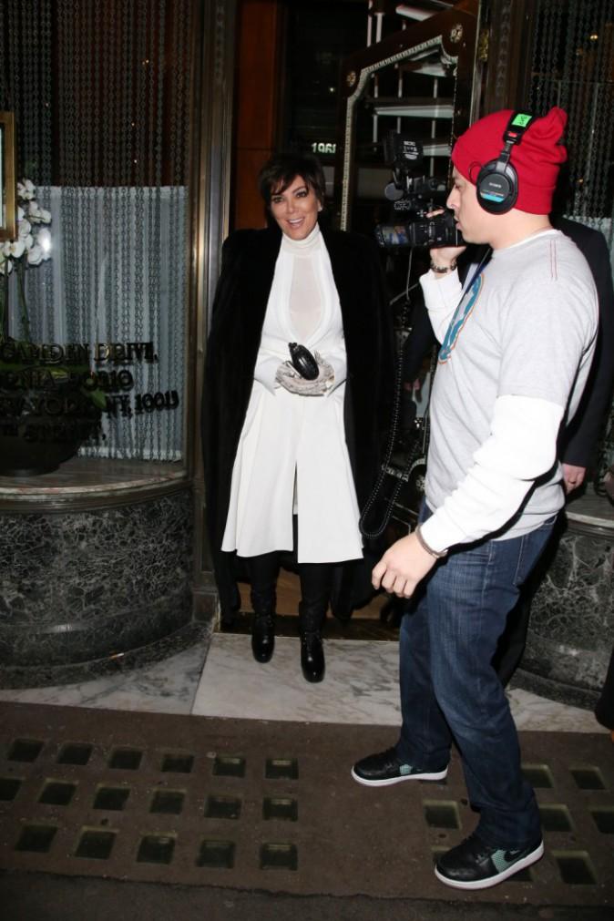 Kris Jenner le 22 janvier 2015