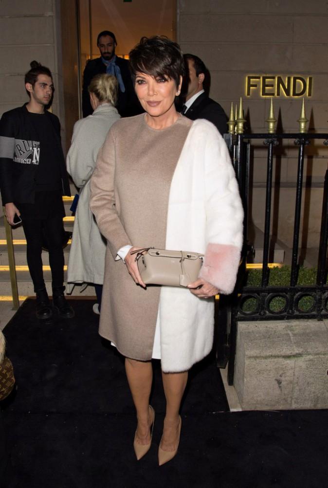 Kris Jenner le 9 mars 2015