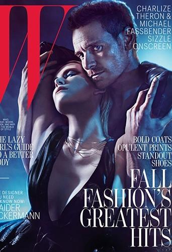 Charlize Theron et Michael Fassbender