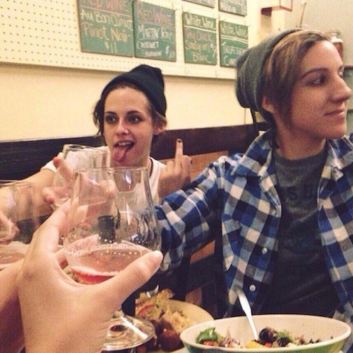 Kristen Stewart et sa copine, Alicia Cargile
