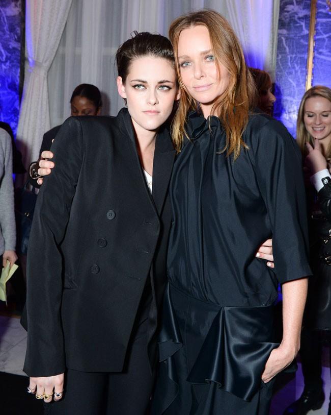 Kristen Stewart et Stella McCartney à New-York le 12 janvier 2015