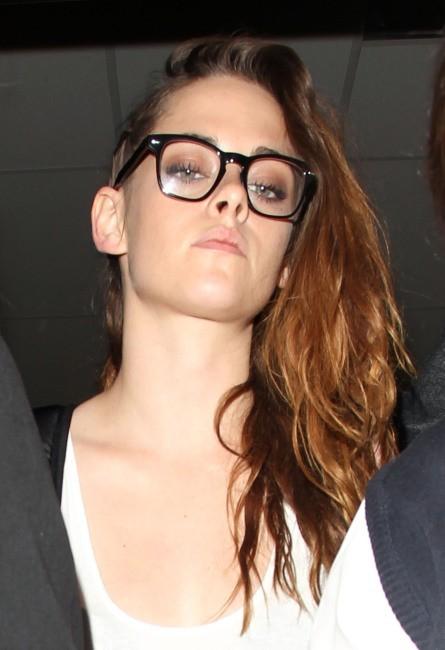 Kristen Stewart à l'aéroport de Los Angeles, le 4 juillet 2013.