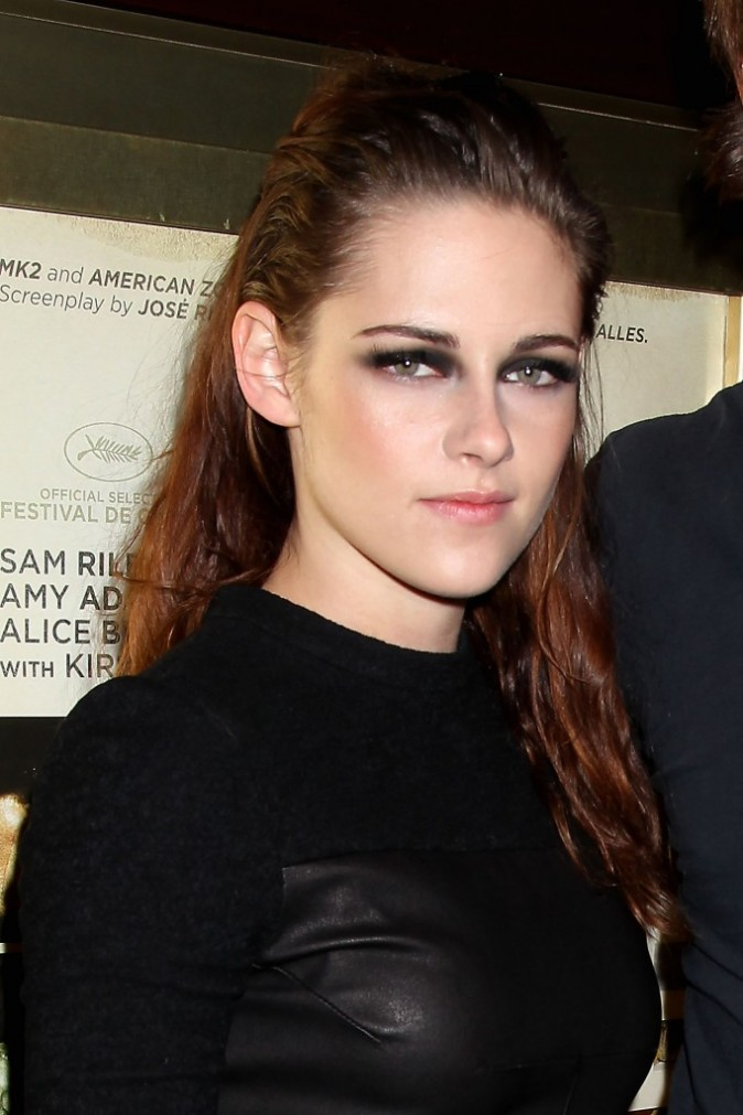 "Kristen Stewart en promo à New York pour le film ""On The Road"", le 8 novembre 2012."
