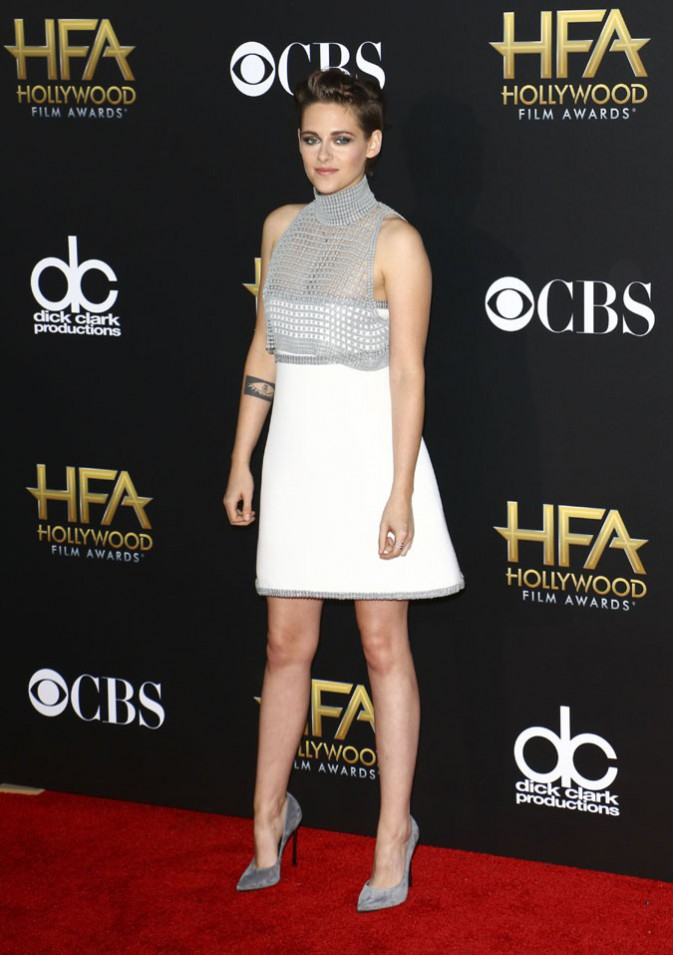 Kristen Stewart à la cérémonie des Hollywood Film Awards le 14 novembre 2014
