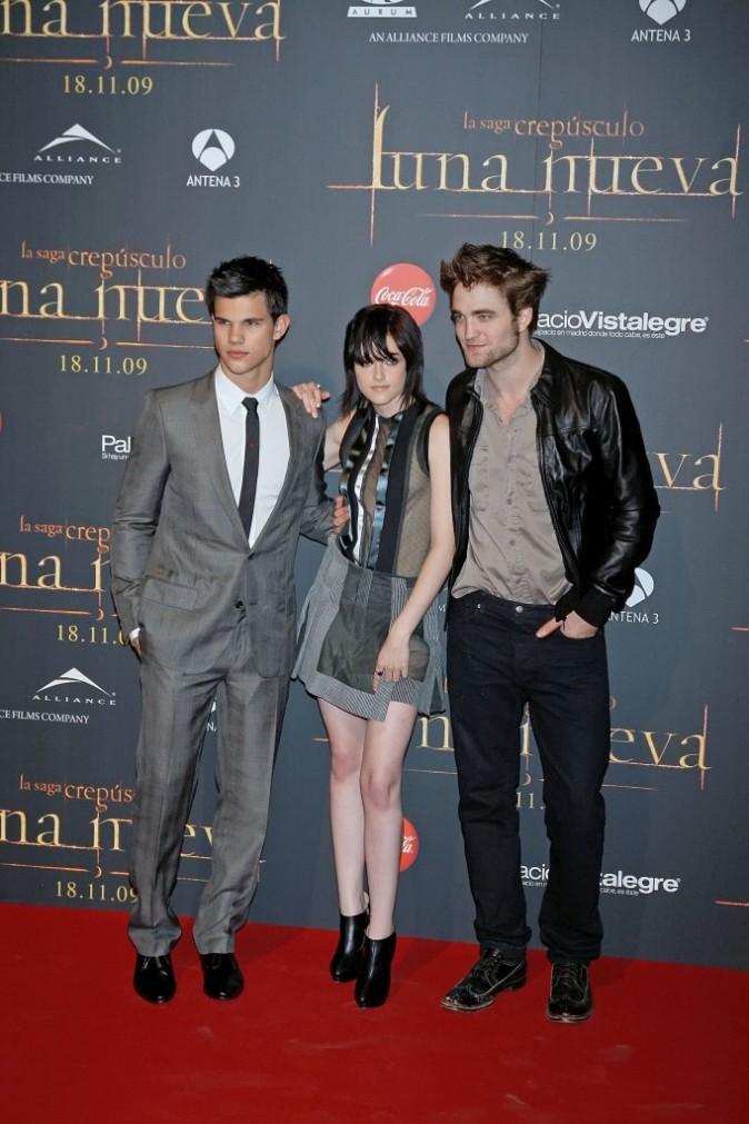 Kristen Stewart et Robert Pattinson en 2009