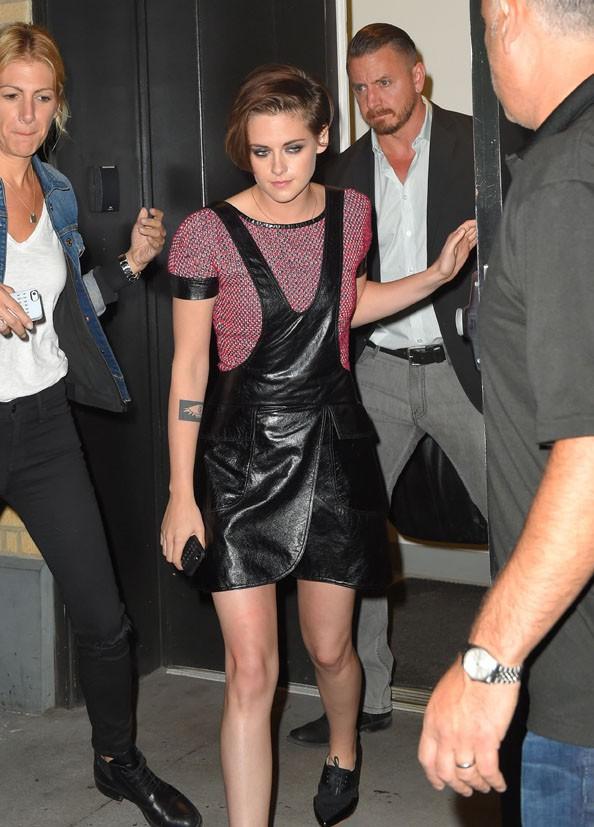 Kristen Stewart à New-York le 7 octobre 2014