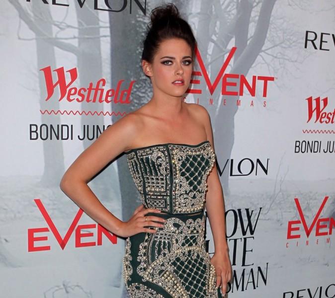 La star de Twilight étincelante dans sa robe