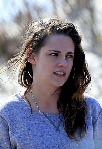 Kristen Stewart à New York le 21 mars 2014