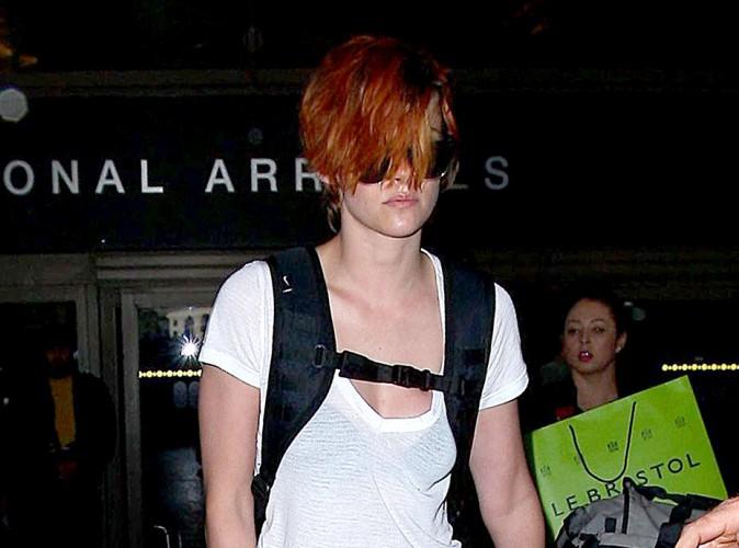 Kristen Stewart à Los Angeles le 9 juillet 2014