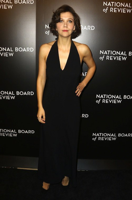 Maggie Gyllenhaal à New York, le 5 janvier 2016