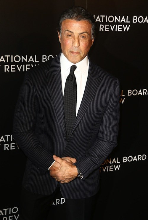 Sylvester Stallone à New York, le 5 janvier 2016