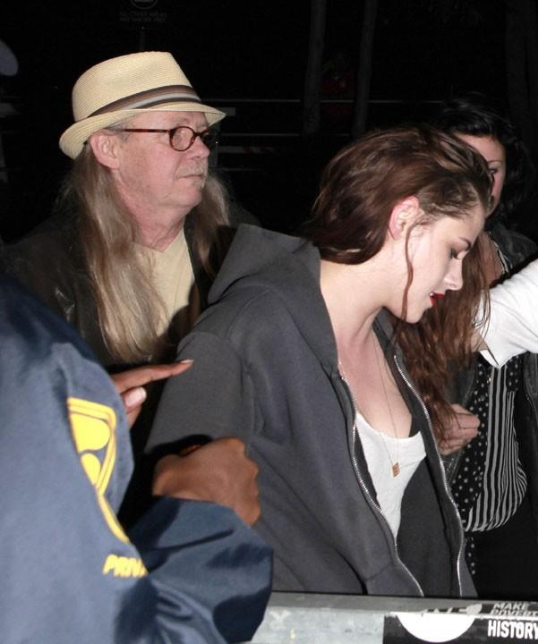 Kristen Stewart au concert de Florence and The Machine à Hollywood le 7 octobre 2012