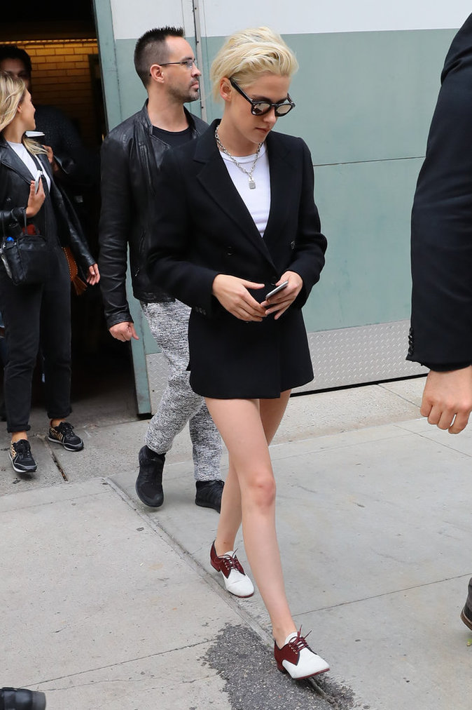 Kristen Stewart à New York le 3 octobre 2016