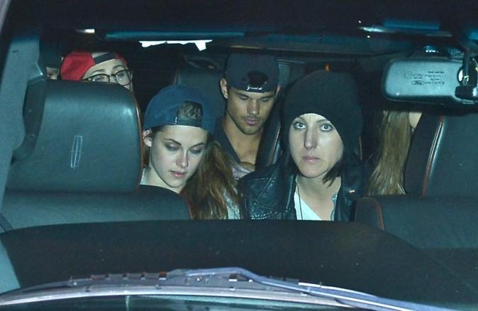Kristen Stewart à West Hollywood avec Taylor Lautner le 5 mars 2013