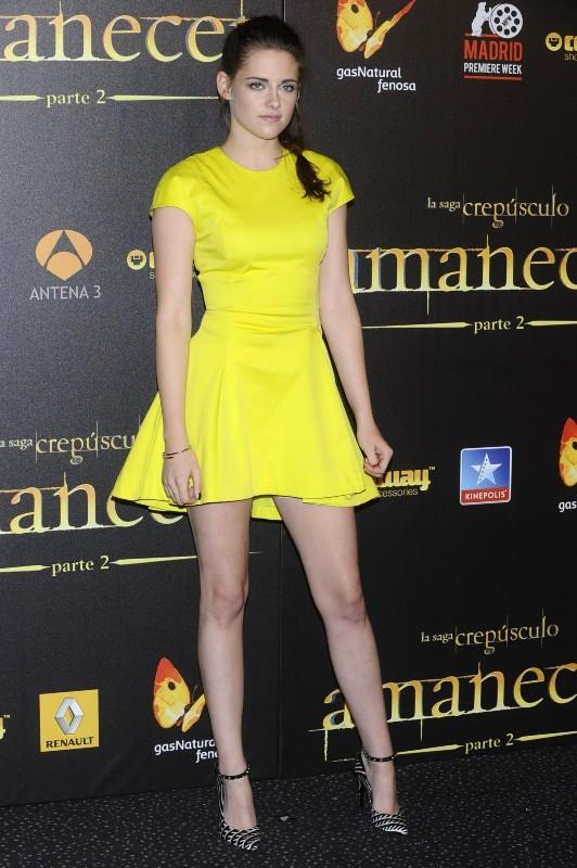 Kristen Stewart lors de l'avant-première de Twilight - Chapitre 5 à Madrid, le 15 novembre 2012.