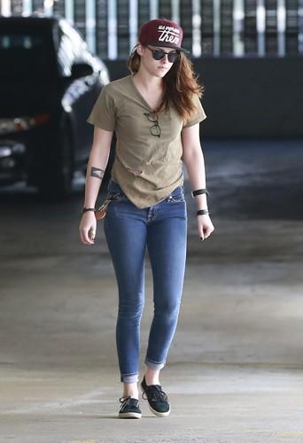 Kristen Stewart à Los Angeles le 13 février 2014