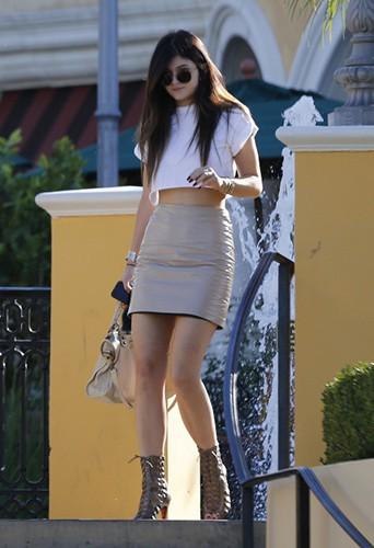 Kylie Jenner à Los Angeles le 19 octobre 2013