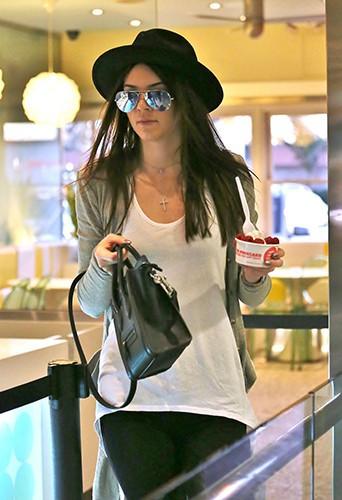 Kendall Jenner à Los Angeles le 4 décembre 2013