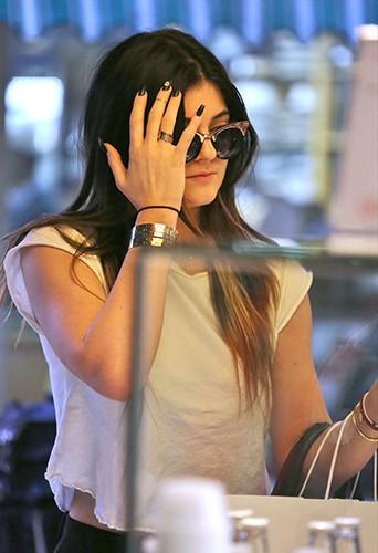 Kylie Jenner à Los Angeles le 4 décembre 2013