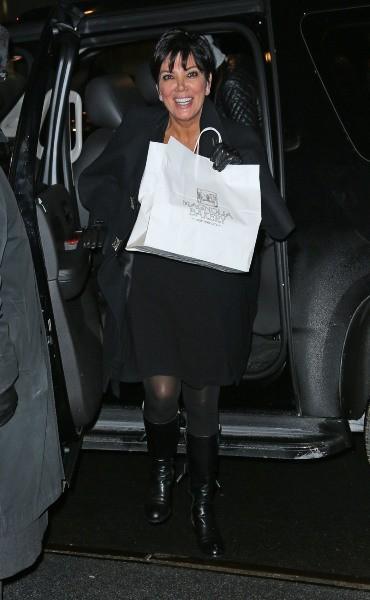 Kris Jenner à New York, le 5 février 2013.