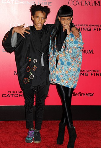 Jaden et Willow Smith à Los Angeles le 18 novembre 2013